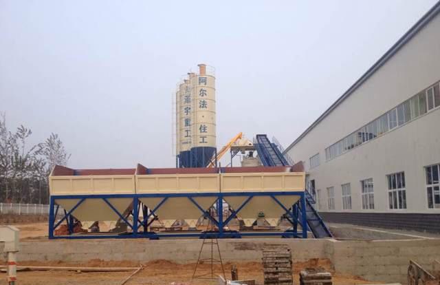 泽宇重工HLS系列混凝土搅拌楼